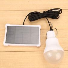 Solar Power LED Lamp Bulb Lamp Outdoor Lighting Camp Tent Fishing
