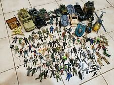 HUGE Mixed Lot of Lanard Corps & Chap Mei Army Figures Vehicles Helicopter More