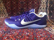 promo code 171ff 3e9c7 NEW NIKE KOBE XI 11 Low TB Basketball Purple Silver White 856485-551- Size