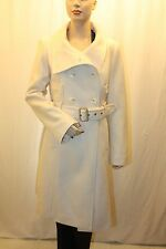 NEW BCBG MAX AZRIA OFF WHITE LONG SLEEVE JACKET QUF6J126/M414 SIZE M
