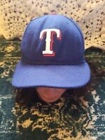 """New Era Texas Rangers GAME 59Fifty Fitted Hat (Royal Blue) MLB Cap 7 3/8"""""""