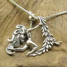 Nude Angel (Aquarius) .925 Silver Slide Pendant