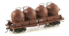 AUSCISION FISHBELLY UNDERFRAME WAGON NPTF CEMENT HOPPER SRA RED 4 PACK NCH-39