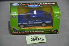 FSO Polonez Caro Plus Policja Poland Police Car 1:43 Diecast Blue Model New Box