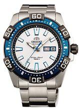 ORIENT SEM7R003W8 Mechanical Automatic Diving Mens' Sport Watch Marin White *DE*