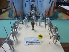 Knights, Standing with lance  Sold Individually  All Metal  54mm