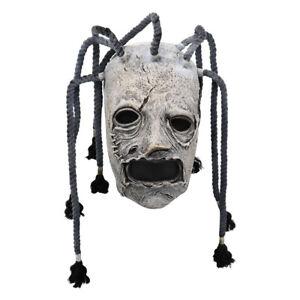 Cospaly Slipknot Corey Taylor Latex Mask Dreadlocks Masks Fancy Dress Halloween