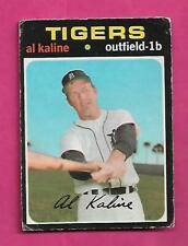 RARE 1971 OPC # 180 TIGERS AL KALINE GOOD CARD (INV# C2422)
