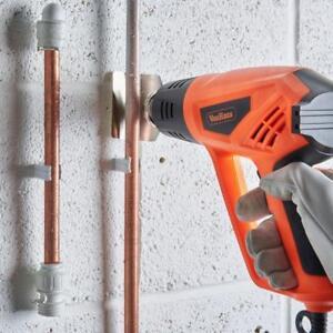 Heat Gun Air Hot Paint Stripper Tool Temp Adjustable Electric & Nozzle Kit 2000W