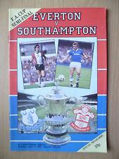 1984 FA CUP Semi Final- EVERTON v SOUTHAMPTON, 14th April