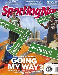 Sporting News Magazine College Basketball Post Season Guide Hank Aaron 2009