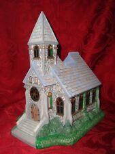 Partylite The Church P7321 2nd Olde World Village Tealight House Series