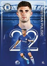 CHRISTIAN PULISIC  CHELSEA FC 2020 ACTION POSTER 24' x 36' SHIPS FROM USA