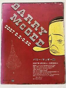 Barry McGee Twist Exhibition Flyer Watari-um Tokyo 2007 Museum Art Limited Rare