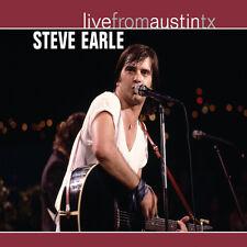 Steve Earle Live From Austin TX Vinyl 2lp Reissue in Stock