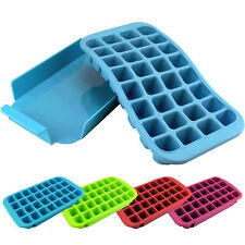 32 Slots Large Silicone Flexible Ice Cube Tray Easy Release Freeze Ice Maker