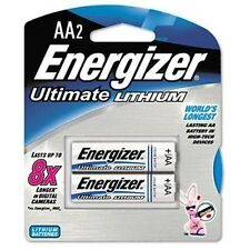 6 new ENERGIZER L91BP-2 Pack Ultimate Lithium AA Genuine Battery, (12 Batteries)