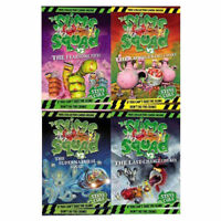 Steve Cole Collection Slime Squad Series 4 Books Set Pack Conquering Conks NEW