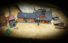 Vintage 1940s Miniature German village buildings