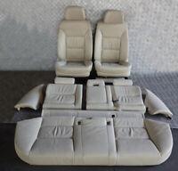 BMW E61 LCI Creambeige Cream Beige Leather Interior Seats Door Cards Memory