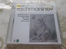 RACHMANINOV SYMPHONY NO.2 PIANO CONCERTOS NOS 2 & 3 - 1997 ERATO 2CD SET