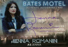Bates Motel Autograph Card AJR Jenna Romanin as Jenna Purple Ink