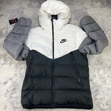 NIKE DOWNFILL WINDRUNNER PUFFER HOODED JACKET SIZE LARGE CU0225-100