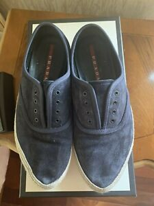 Mens Prada Shoes Espadrilles Loafers  Size 7