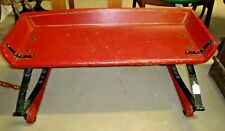 Buggy Seat Bench Red Wash Paint