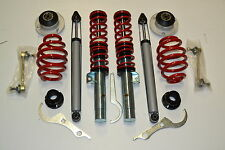 BMW E46 Gewindefahrwerk EGC RED LINE + 2x Domlager 2x Koppelstangen 3 er