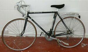 Raleigh Pursuit, 1980's Black Racing Bicycle, 54cm Frame