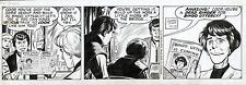 1963 GEORGE TUSKA BUCK ROGERS ORIGINAL COMIC ART CLASSIC 1960's STRIP ARTWORK Comic Art