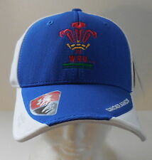 UNDER ARMOUR Men's Wales Blitz Cap Color White/Royal Size Large NEW