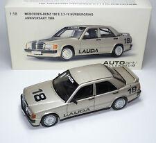 Mercedes-Benz 190E 190 E 2.3-16 W201 LAUDA Nürburgring 1984 AUTOart 88431 1:18