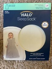 Halo SleepSack Ivory Original Wearable Blanket Size S Birth 6 month NEW