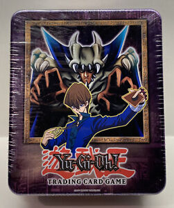Yugioh Yu-Gi-Oh 2002 FACTORY SEALED Seto Kaiba & Lord of D Collectors Tin NEW