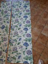 Laura Ashley Peony Fabric Blue Palette