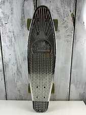 """Sunset Skateboard Co. Skateboard 22"""" Chrome Authentic Led Wheels"""