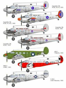 Beech C-45 Expeditor, Belcher Bits BD29, 1/48 scale decal