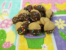 HOMEMADE CHOCOLATE DIPPED PEANUT BUTTER REESE'S EASTER COOKIES