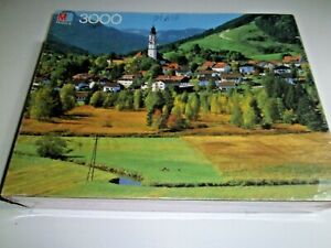 MB Magnum 3000 Piece Puzzle | Bayem, Germany | 4550-B | New~Factory Sealed 1986