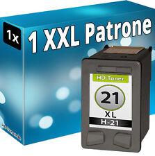 TINTE PATRONEN für HP 21 XL DESKJET 3920 3940 D1360 D1460 D1560 D2360 D2460