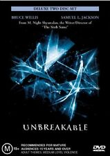 Unbreakable M Rated Deleted Scenes DVDs & Blu-ray Discs