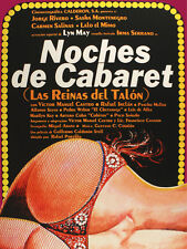 5934 Noches de Cabaret Las reina del talon Poster.Interior design.Decoration Art