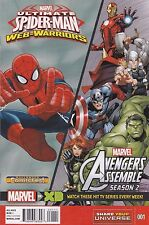 HALLOWEEN COMICFEST MARVEL ULTIMATE SPIDER-MAN/AVENGERS ASSEMBLE SEASON 2