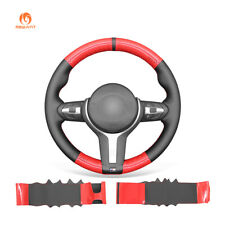 DIY Leather Carbon Fiber Steering Wheel Cover D1 for BMW F30 F34 F22 F23 F32 F33