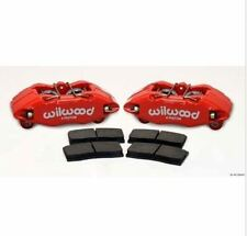 Wilwood 140-13029-R Forged DPHA Front Caliper Kit - Red Powder Coat Caliper