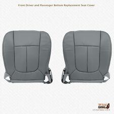 2011 2012 Ford F250 F350 Work Truck Driver-Passenger Bottom Seat Cover VinylGray