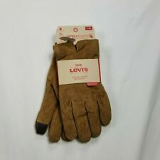 levis gloves leather easy texting   tan   mens XL heritage fie Sharpe lined dd