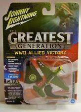WWII CURTISS P40E WARHAWK THE GREATEST GENERATION VERSION A JOHNNY LIGHTNING